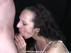 Deep Throat with German MILF