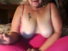 Blond Granny on Webcam R29
