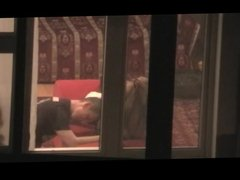 SpyCams Caught Voyeur Window (Couple)