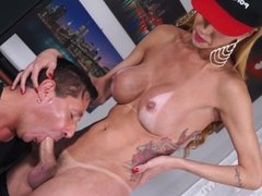 TransBella - Hot Tranny Renata Davila Gets Blown and Fucked