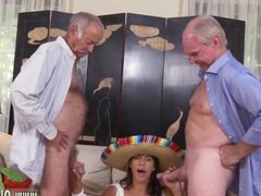 Real amateur and skinny old mature hardcore