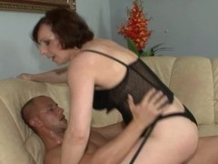 Hot milf and her younger lover 464