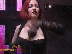 Two hot redhead pornstars enjoy having some fun at the set