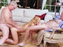 Young guy old woman first time Frankie And