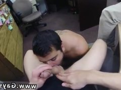 Mutual straight male male masturbation