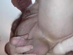 Mike Muters dildo fucks from above