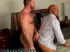 Young shaved huge cock anal gay sex