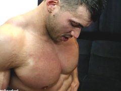 Slap The Muscle Eat My Cum