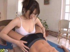 Large Tits Nurse Provides Sexual Care