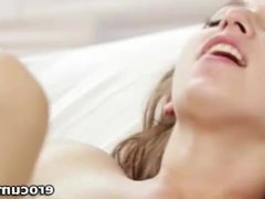 Ariana Grand pumped in her tiny pink sex hole