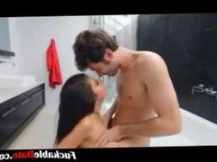 Amateur couple have dirty sex