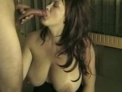 Busty amateur blowjob sliv. Gilberte from DATES25.COM