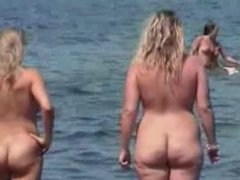 Nudist beach perv 7 chubby big tits milf. Shalon from DATES25.COM