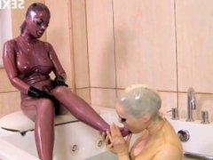 sexix.net - 28030-bizarre encounter black angelica and latex lucy 1080p wmv