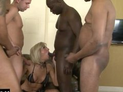 Cathy is a white slutty woman who likes her men black and hung.