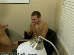 Gay boys pull out their dicks for the first time Fuck, of course!