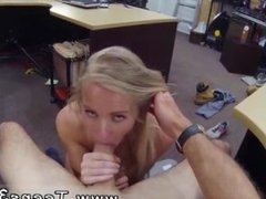 Sexy blonde big boobs fucked Blonde stupid tries to sell car, sells