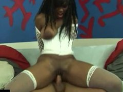 Nyomi Banxxx is a super slutty black whore that loves getting her pussy