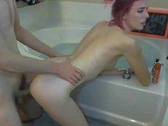 pink girl fuck and cum on camteensporn.com