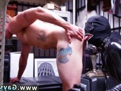 Nude oily hunk male movie gay Dungeon master with a gimp