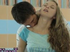 Teen blowjob cumshot compilation first time Russian lovers having sensual
