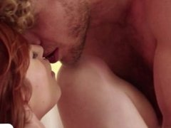 Red Head Gwen gets a very steamy sex with her lover