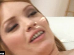 Redheaded MILF, Alayna Dior, gets the cock she raves in this hot sex