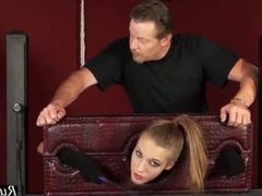Young teen girl Molly likes to be punished HD