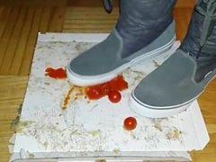 Vans Boots Tomato Crush