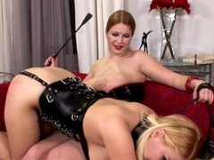 delicate BDSM action with fetish babes