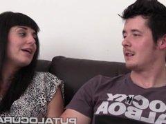 FULANAX.COM - Iris y Zeus Graban su primer video porno
