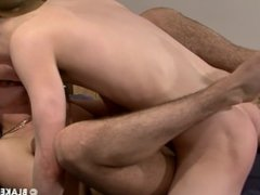 Lovely boys Clayton And Luke cum in each others mouth