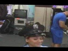 Lesbian milf breast feeding Fucking Ms Police Officer