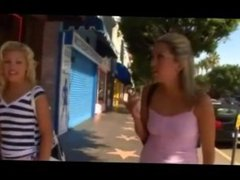 Blonde Lesbian Asslicking