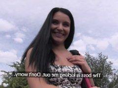 Pornhub Agent - First Time Public POV Blowjob Shoot w Lucia Denvile Trailer