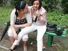 Smoking and spitting girls xD 8