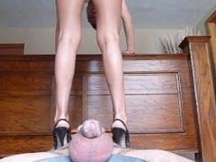 Cruel Sara - Ruined Under Her Heels in Chastity