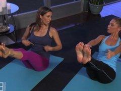 Kym Johnson Bare Feet & Soles workout