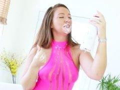 Maddie O'Reilly - Eyeball Cumshot with Whipped Cream