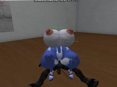 Horse meet sexy Krystal part 3