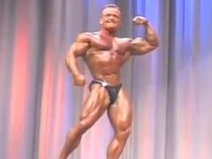 Collection of many bodybuilders Flexing on stage Muscle Worship
