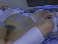 Susanna Francessca masturbates to orgasm