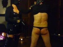 Dominatrix femdom spanking whipping slave ass Dominatrixi
