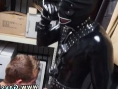 Mid air gay cumshots snapchat Dungeon master with a gimp