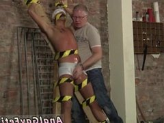 Gay twink bondage fuck and men in hard japanese bondage Slave Boy Made To