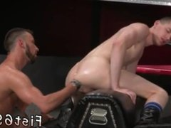 White trash male jack off videos gay Aiden Woods is on his back and
