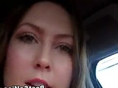 Asian This Girl Got So Horny In The Car