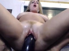 Housewife loves to squirt on black cock while hubby is away