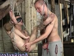 Asian bondage schoolboys and porno gay male bondage with cum shots Sling