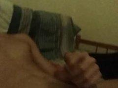 Masturbation on the bed